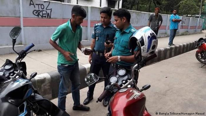 Bangladesch Chittagong Polizeikontrolle