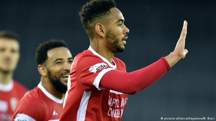 Schweiz Fußball GC SION Spieler Matheus Cunha (Bild-Allianz / Keystone / W.Bieri)