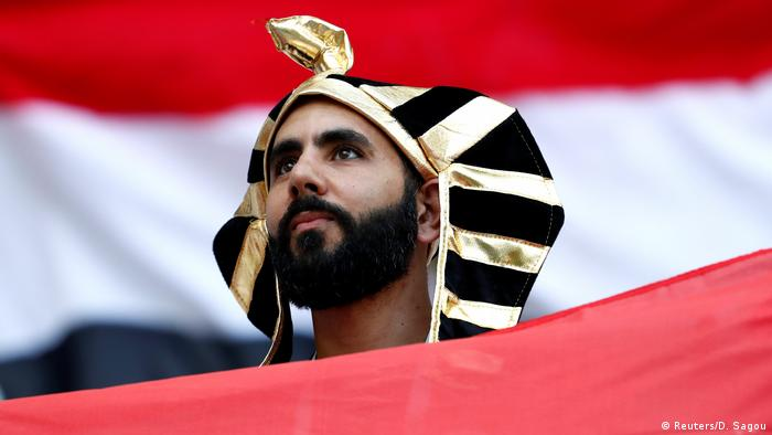 Russland WM 2018 l Saudi Arabien vs Ägypten - Fan (Reuters/D. Sagou)