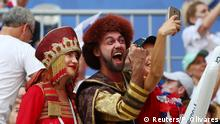 Russland WM 2018 l Uruguay vs Russland - Fan