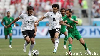 Russland WM 2018 l Saudi Arabien vs Ägypten (Reuters/U. Marcelino)
