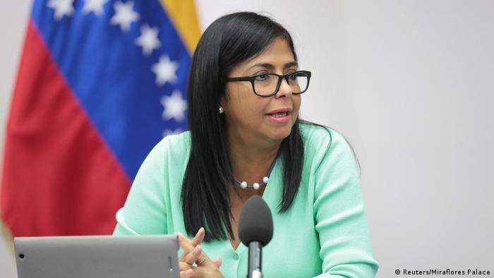 Venezuela Vize-Präsidentin Delcy Rodriguez