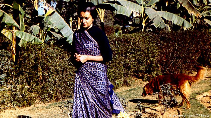 Indien Indira Gandhi (picture-alliance/AP Photo)