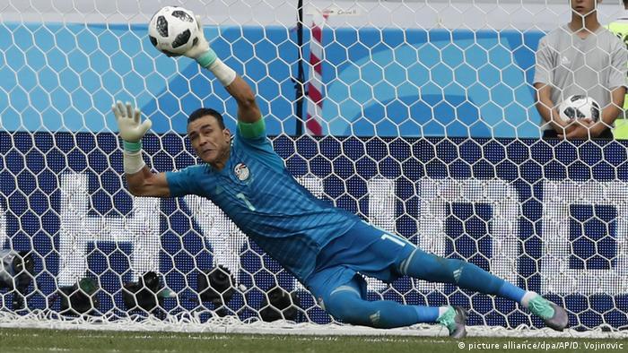 Russland WM 2018 l Saudi Arabien vs Ägypten 1:1 - El-Hadary hält Elfmeter (picture alliance/dpa/AP/D. Vojinovic)
