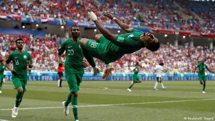 Russland WM 2018 l Saudi Arabien vs Ägypten 2:1 - Tor von Al-Dawsari (Reuters/D. Sagolj)