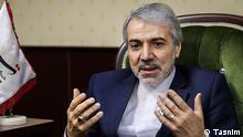 Mohammad Bagher Nobakht ist der Regierungssprecher des Kabinetts Hassan Rohani