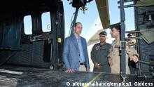 Duke of Cambridge Prinz William in Jordanien (picture-alliance/empics/J. Giddens)