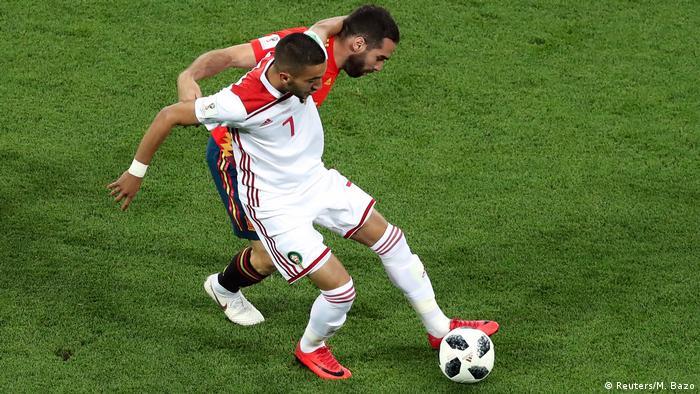 Russland WM 2018 l Spanien vs Marokko (Reuters/M. Bazo)
