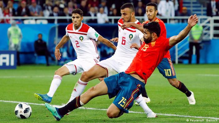 Russland WM 2018 l Spanien vs Marokko 1:1 - Costa (Reuters/F. Bensch)