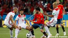 Russland WM 2018 l Spanien vs Marokko 1:1