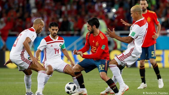 Russland WM 2018 l Spanien vs Marokko 1:1 (Reuters/G. Fuentes)