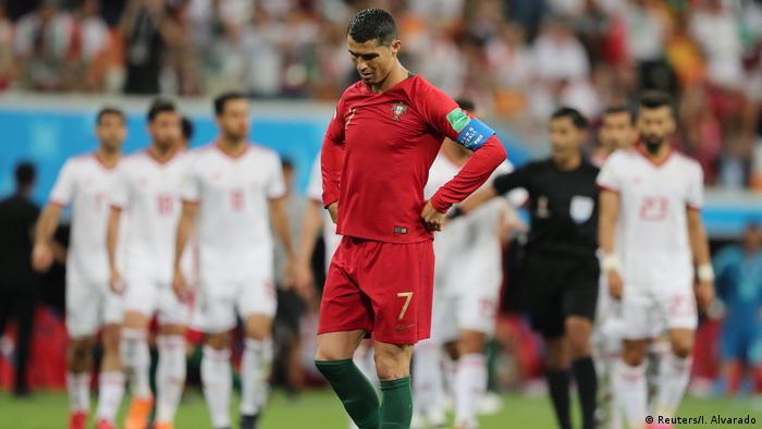 Russland WM 2018 l Iran vs Portugal 0:1 - verschossener Elfmeter von Ronaldo (Reuters/I. Alvarado)