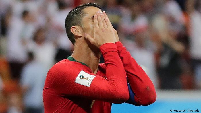 Russland WM 2018 l Iran vs Portugal 0:1 - verschossener Elfmeter von Ronaldo