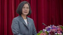 Taiwan Präsidentin Tsai Ing-wen