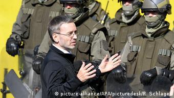 Ministar Kickl danas je u Spielfeldu nazočio vježbi austrijskih policajaca i vojnika