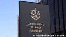 CVRIA, der Gerichtshof der Europäischen Gemeinschaft, Cour de justice de l'Union européenne, Verwaltungsgebäude in Luxemburg, aufgenommen am 02.08.2015. Foto: Horst Galuschka   Verwendung weltweit