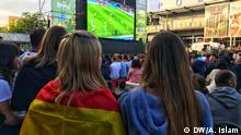 Mannheim Deutsche Fans bei der Fußball WM