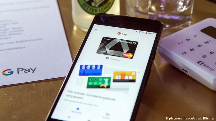 Google Pay app (picture-alliance/dpa/J. Büttner)