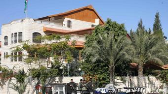 Gazastreifen Villa von Mahmud Abbas in Gaza-Stadt