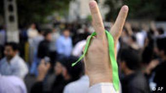 Iran Wahlen Demonstration in Teheran am Sonntag 28 Juni