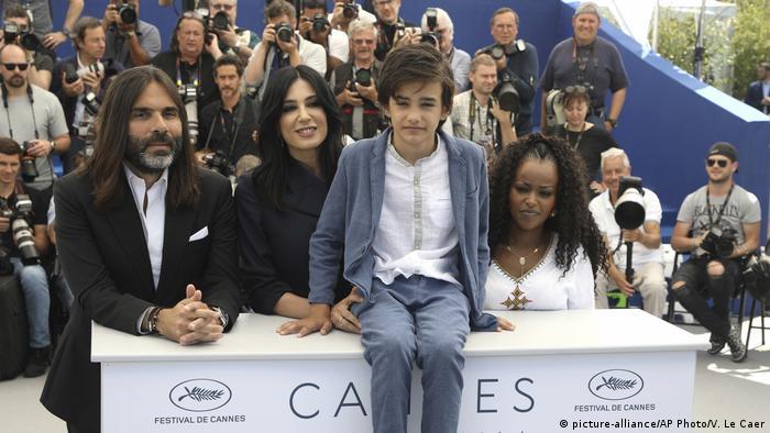 Migration - Syrischer Schauspieler Zain al Raffea bei den Filmfestspielen in Cannes (picture-alliance/AP Photo/V. Le Caer)