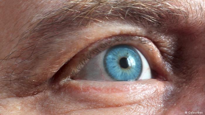 Глаза страдают от стресса