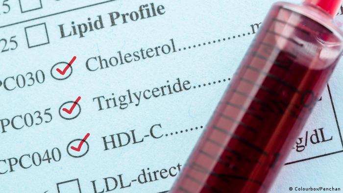 Cholesterin - Cholesterol, Triglyceride und HDL-Con (Colourbox/Penchan)