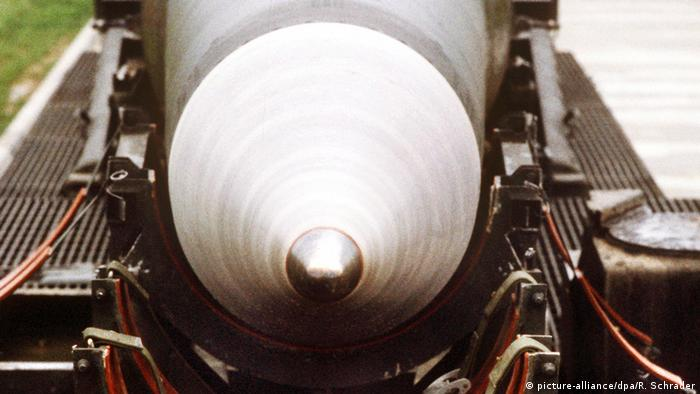 Pershing II missile in Germany