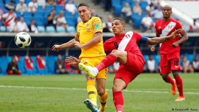 Fußball WM 2018 Australien v Peru Tor 0:2 (Reuters/M. Rossi)