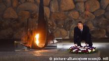 Israel - Prince William besucht die Holocaust-Gedenkstätte Yad Vashem