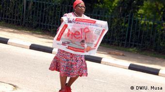 Nigeria Abuja Proteste BBOG (DW/U. Musa)