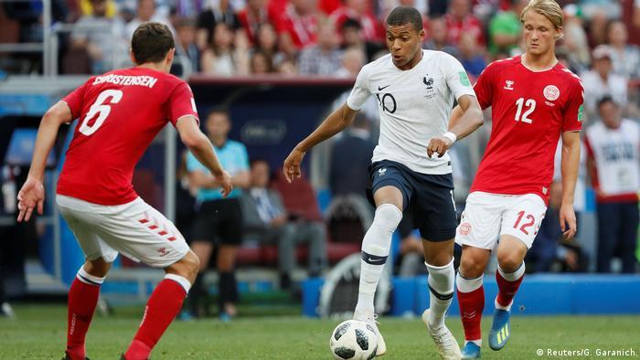 Fußball WM 2018 Dänemark v Frankreich (Reuters/G. Garanich)