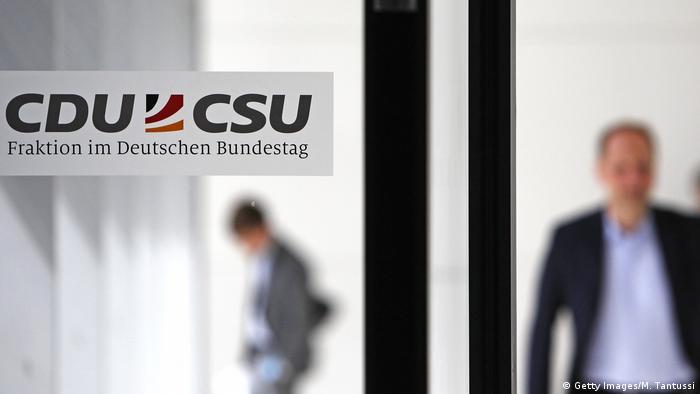 Deutschland Berlin Sitzung der CDU/CSU-Fraktion
