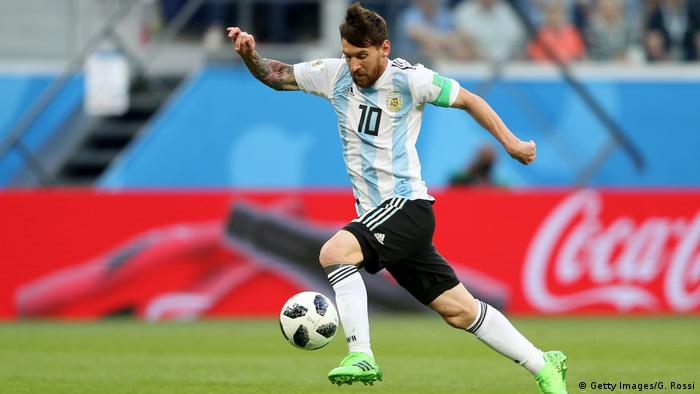 Fußball WM 2018 Nigeria vs Argentinien (Getty Images/G. Rossi)