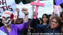Mexiko - Frauenproteste - Gegen Gewalt an Frauen
