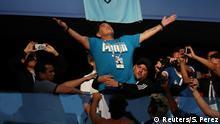 Fußball WM 2018 Nigeria vs Argentinien Maradona