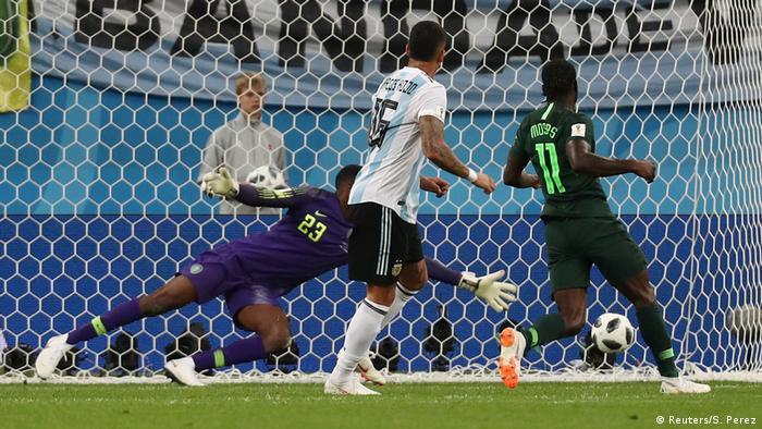 Fußball WM 2018 Nigeria vs Argentinien Tor (Reuters/S. Perez)