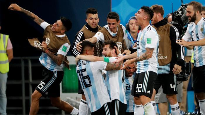 Fußball WM 2018 Nigeria vs Argentinien (Reuters/J. Silva)