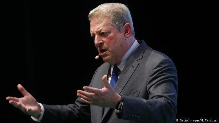Deutschland, Berlin: Al Gore spricht bei der NOAH Conference