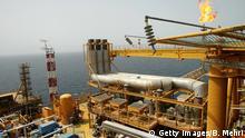 Balal offshore Bohrinsel im Persischen Golf