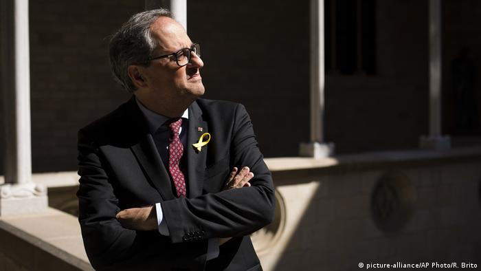 Spanien, Barcelona: Quim Torra