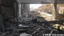 Der Al-Shifa-Hospital-Complex in Mossul gehörte zu den modernsten medizinischen Einrichtungen im Irak. Heute ist Al-Shifa zerstört. Während der IS-Herrschaft über Mossul von Juni 2014 bis Juli 2017 diente es den Dschihadisten als