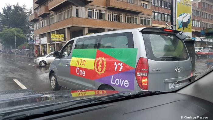 Anhänger von Eritrea und Äthiopien (Chuleye Mesaye )