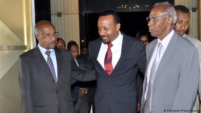 Treffen Diplomaten Eritrea und Äthiopien (Ethiopian Press Agency)