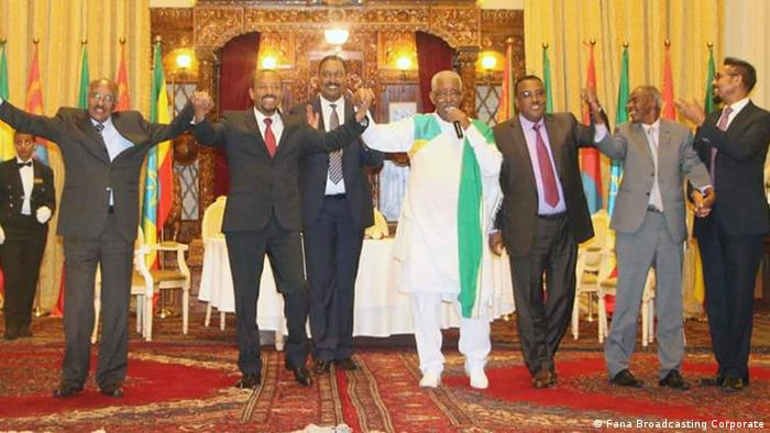 Treffen Eritrea und Äthiopien (Fana Broadcasting Corporate)