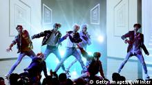 Band BTS Bangtan Boys (Getty Images/K. Winter)