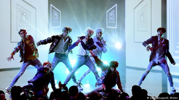 South Korean band BTS