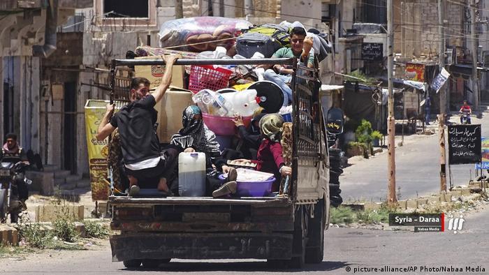 Suriyeli sığınmacılar evlerine dönüyor