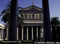 San Paolo fuori le Mura, basílica de San Pablo, Roma, Italia.