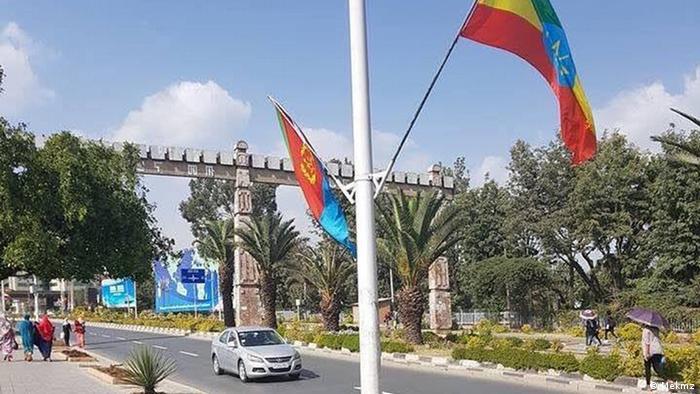 Treffen Diplomaten Eritrea Äthiopien (Mekmz)
